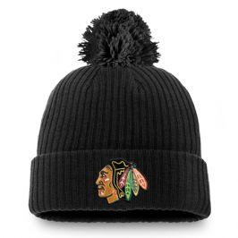 Zimní čepice Fanatics Core Cuff NHL Chicago Blackhawks