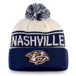 Zimní čepice Fanatics Heritage NHL Nashville Predators