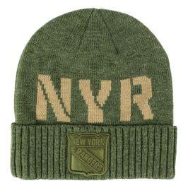 Zimní čepice Fanatics Modern Utility Cuffed Beanie NHL New York Rangers