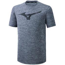 Pánské tričko Mizuno Core RB Graphic Tee šedé