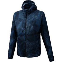 Pánská bunda Mizuno Printed Hoodie Jacket černá
