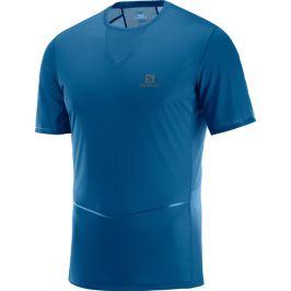 Pánské tričko Salomon Sense Ultra Tee modré