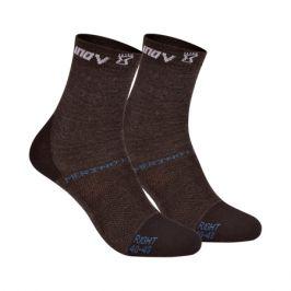 Ponožky Inov-8 Merino Lite Sock černé