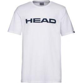 Dětské tričko Head Club Ivan White/Dark Blue