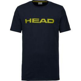 Dětské tričko Head Club Ivan Dark Blue/Yellow