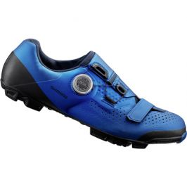 Cyklistické tretry Shimano XC5 modré