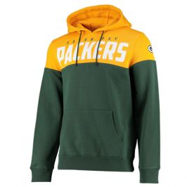 Pánská mikina s kapucí Fanatics Cut & Sew OH Hoodie NFL Green Bay Packers