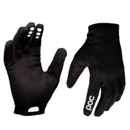 Dlouhoprsté cyklistické rukavice POC Resistance Enduro uranium černé