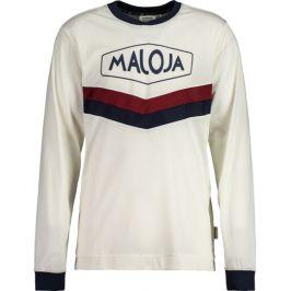 Pánský cyklistický dres Maloja LeunM. bílý
