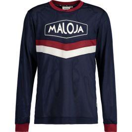 Pánský cyklistický dres Maloja LeunM. tmavě modrý