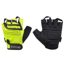 Cyklistické rukavice FORCE SPORT žluté
