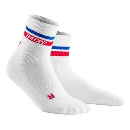 Pánské běžecké ponožky CEP 80's červeno-modré