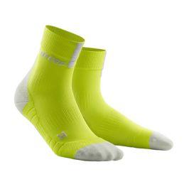 Pánské běžecké ponožky CEP 3.0 limetkové