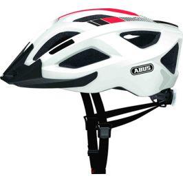 Cyklistická helma ABUS Aduro 2.0 Race White