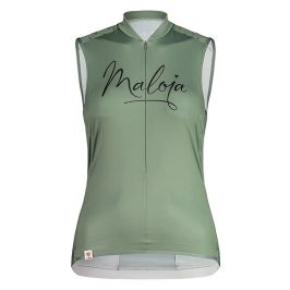 Dámský cyklistický dres Maloja ArgoviaM. Top zelený