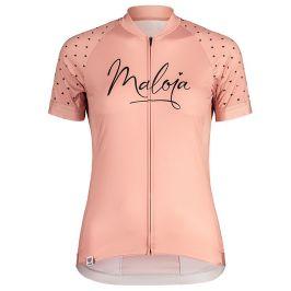 Dámský cyklistický dres Maloja ArgoviaM. 1/2 růžový