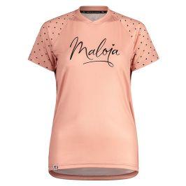 Dámský cyklistický dres Maloja ArgoviaM. Multi 1/2 růžový