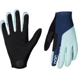 Dlouhoprsté cyklistické rukavice POC Essential Mesh Glove modro-zelené