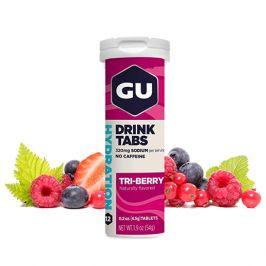 Iontový nápoj GU Hydration Drink Tabs 54 g Triberry