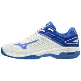 Dámská tenisová obuv Mizuno Wave Exceed Tour 4 CC White/Blue