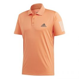 Pánské tričko adidas Club 3-Stripes Polo Orange