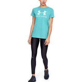 Dámské tričko Under Armour Graphic Sportstyle Classic Crew světle modré