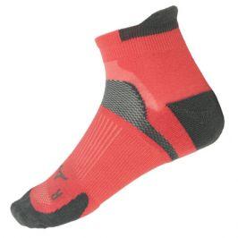 Ponožky Mizuno DryLite Race Low červené