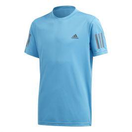 Dětské tričko adidas Boys Club 3-Stripes Light Blue