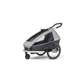 Dětský vozík Croozer Kid FOR 1 Keeke STONE GREY 2020 2v1 odpružený