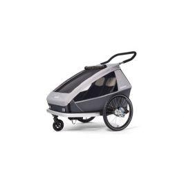 Dětský vozík Croozer Kid FOR 2 Keeke STONE GREY 2020 2v1 odpružený