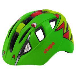 Dětská cyklistická helma Etape KITTY zelená