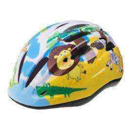Dětská cyklistická helma Etape REBEL žluto-modrá