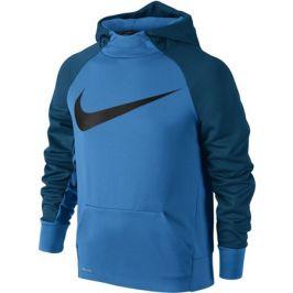 Dětská mikina Nike Therma Training Hoodie Blue