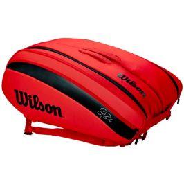 Taška na rakety Wilson Federer DNA 12 Pack Red 2020