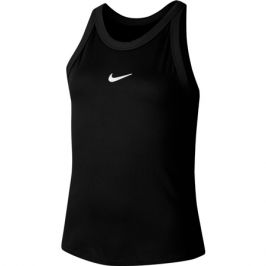 Dívčí tílko Nike Court Dri-Fit Black