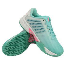 Dětská tenisová obuv K-Swiss Hypercourt Express 2 HB Aruba Blue