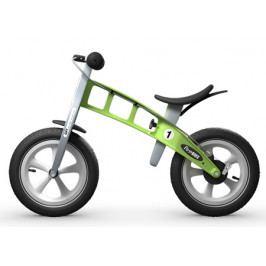 Dětské odrážedlo First Bike Racing zelené