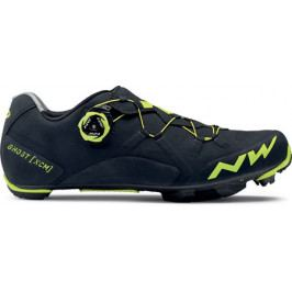Northwave Ghost Xcm - Black/Yellow Fluo