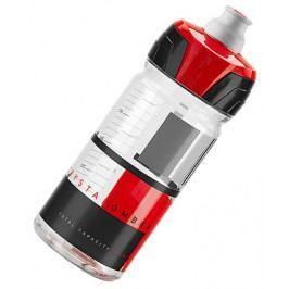 Láhev ELITE CRYSTAL OMBRA čirá/červená 550 ml