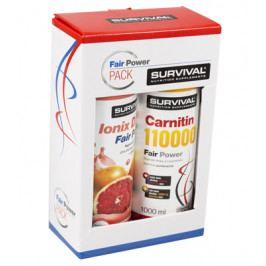 Balíček Survival hubni efektivně Ionix + Carnitin 110000