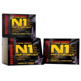 Nutrend N1 Pre-Workout 10 x 17 g