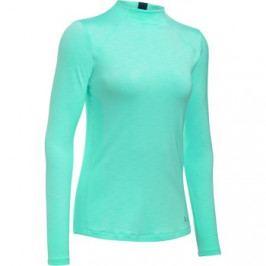 Dámské tričko Under Armour ColdGear Armour Mock Turquoise