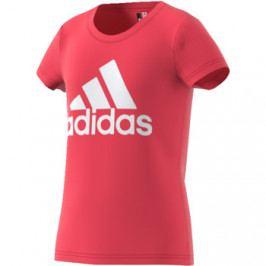 Dívčí tričko adidas Essentials Logo Tee Pink