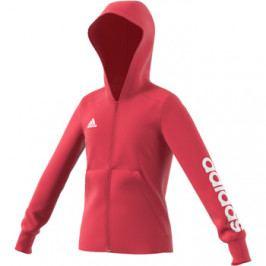 Dívčí mikina adidas Essentials Linear Full Zip Pink