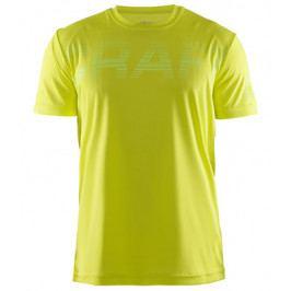 Pánské funkční tričko Craft Prime Logo Yellow