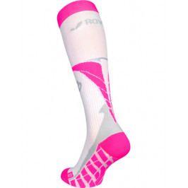 Kompresní podkolenky ROYAL BAY Air White/Pink