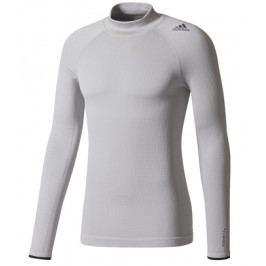 Pánské tričko adidas TF Climaheat LS Tee Mock
