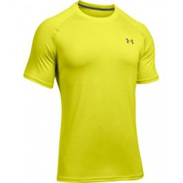 Pánské tričko Under Armour Tech SS Smash Yellow