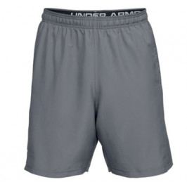 Pánské šortky Under Armour  Woven Graphic Wordmark Zinc Gray/Black