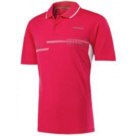 Pánské tričko Head Club Technical Polo Red